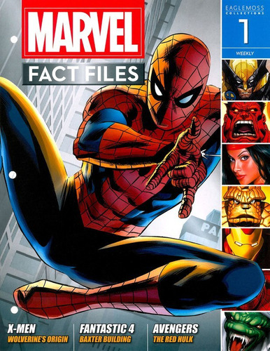 marvel fact files 01 - spider-man - bonellihq 1 cx360 g18