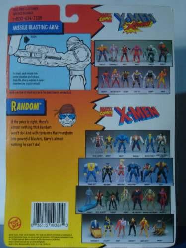 marvel - figura random - x men - toy biz 1994