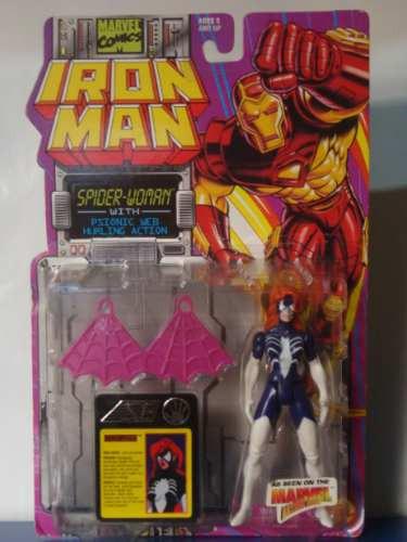 marvel - figura spider woman  - spiderman - toy biz 1994