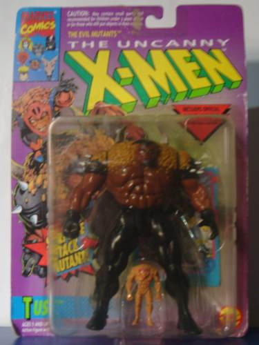 marvel - figura tusk - x men - toy biz 1994