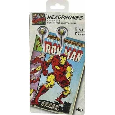 marvel headphones classic iron man