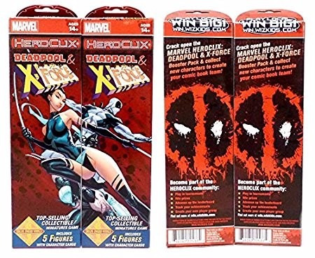 marvel heroclix: deadpool and x-force 1 booster
