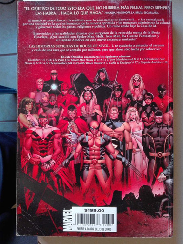 marvel house of m vol. 1 ombnibus