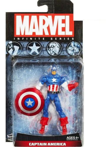 marvel - infinite series captain america a8394 hasbro