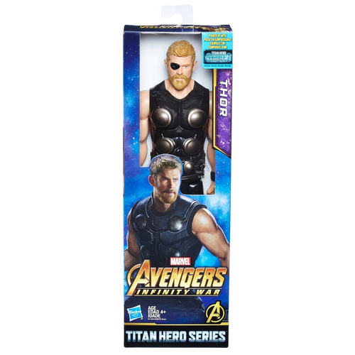 marvel infinity war titan hero- thor con puerto para power f