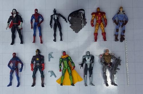marvel iron man figuras legends select y universe