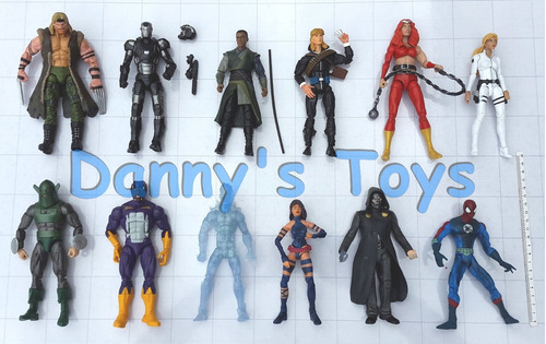 marvel iron man figuras legends select y universe