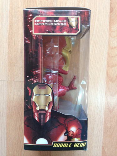 marvel ironman iron man wacky wobbler funko 7
