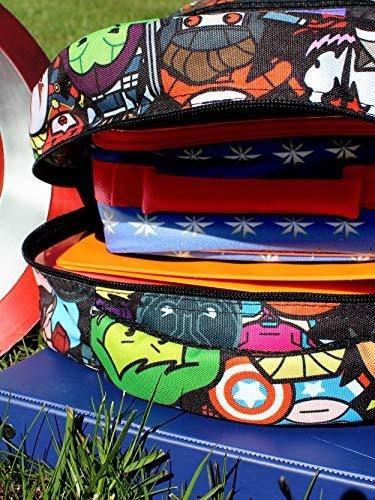 marvel kawaii avengers niños niñas mochila escolar de 16