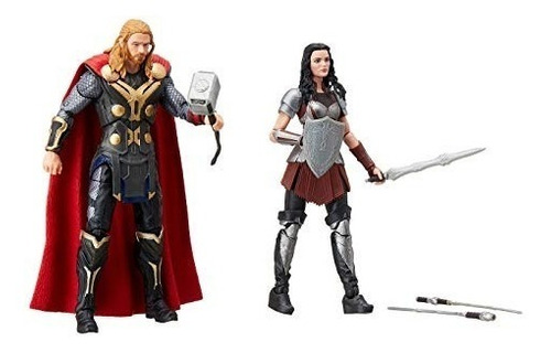 marvel legends 10th years thor e sif - the dark world