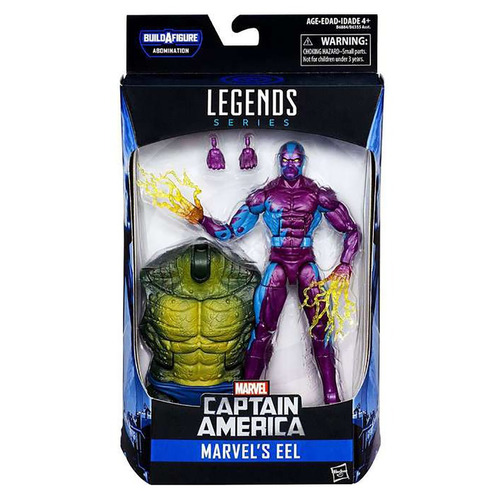 marvel legends - abomination series eel - robot negro