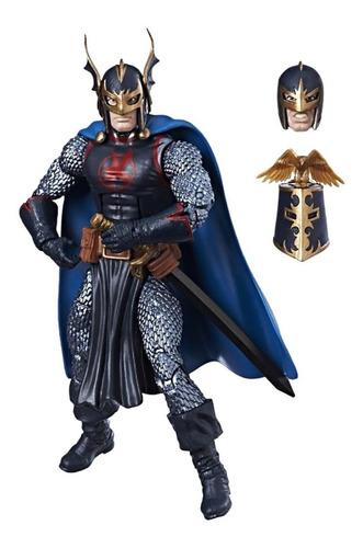 marvel legends avengers black knight c/ faltante