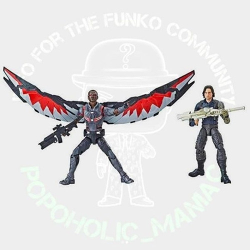 marvel legends avengers infinity war winter soldier & falcon
