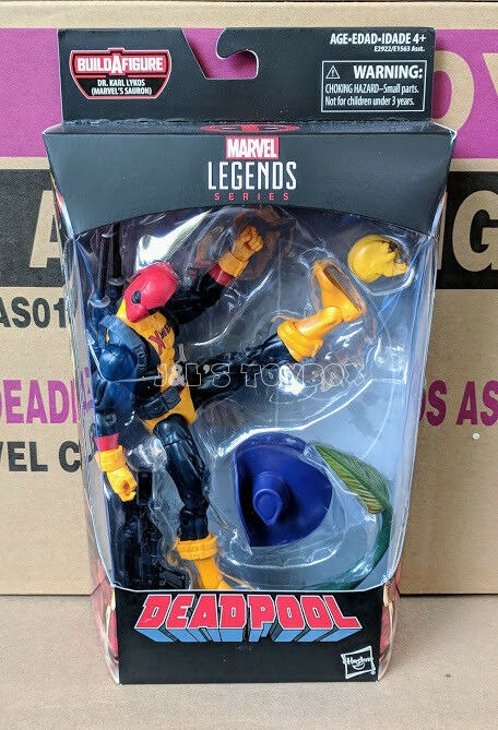 "Marvel Legends Deadpool X-Men Shirt Madcap Sauron 6/"" Figure"