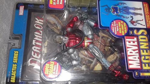 marvel legends deathlok - series 9 (serie galactus)