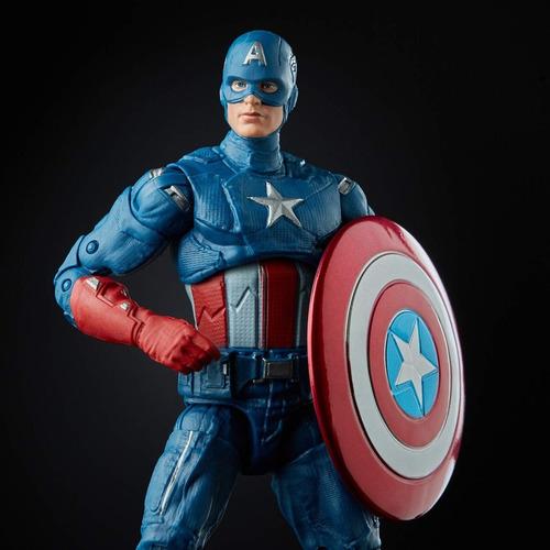 marvel legends endgame capitan america figura original