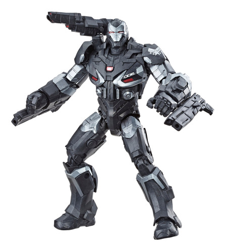 marvel legends  endgame figuras de 6   war machine