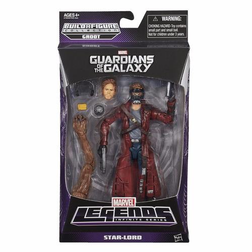 marvel legends guardianes de la galaxia star lord