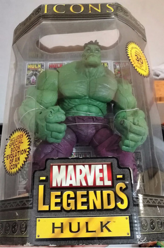 marvel legends icons hulk de avengers en mano envío gratis