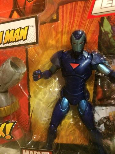 marvel legends ironman serie terrax variante azul, spiderman
