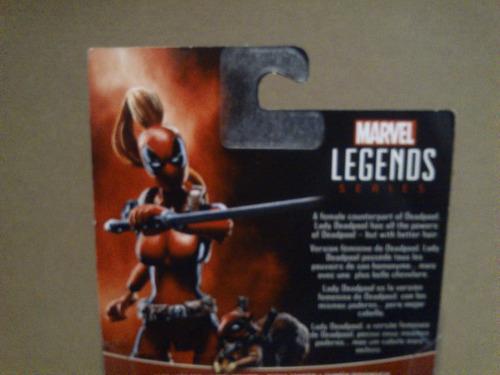 marvel legends lady deadpool y ardilla