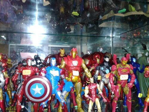 marvel legends lote variado movie iron man spiderman y mas