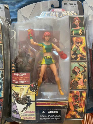 marvel legends marvel girl serie brood queen