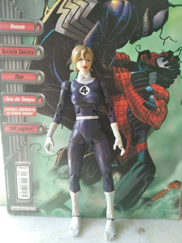 marvel legends: mulher invisível - invisible woman