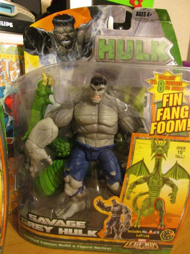 marvel legends savage grey hulk