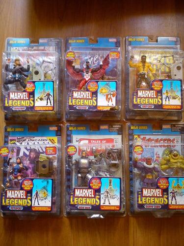 marvel legends serie mojo (6 figuras) nuevas