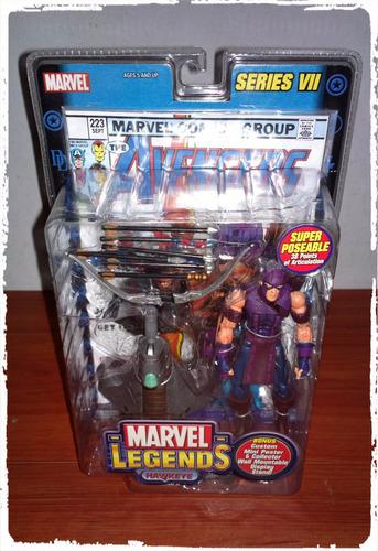 marvel legends series 7  hawkeye marca toy biz 2004