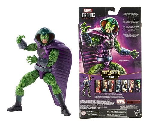 marvel legends series avengers infinity war serpent society