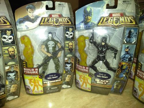 marvel legends series nemesis completo con variantes walmart