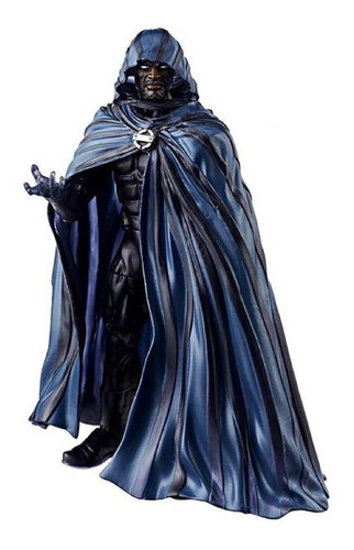 marvel legends spider-man series cloak hasbro - robot negro
