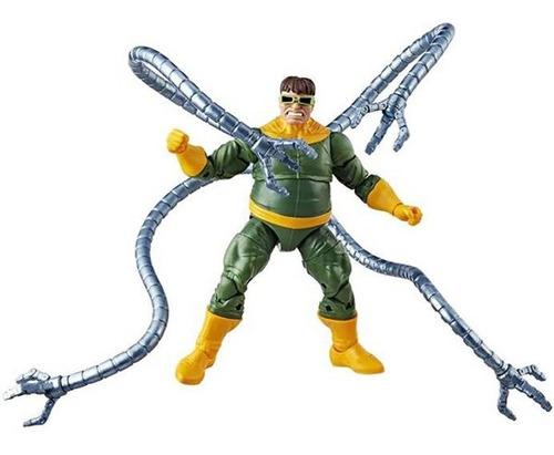 marvel legends spider-man series doc ock - robot negro