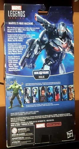 marvel legends/ war machine/ avengers endgame/ hasbro/