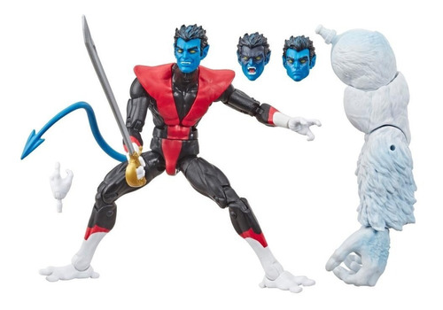 marvel legends x force wave 1 nightcrawler