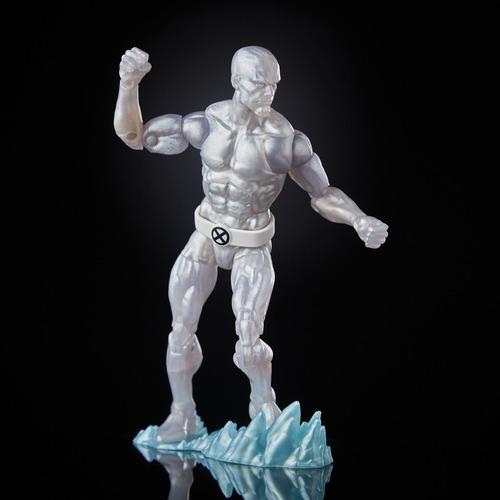 marvel legends x men retro iceman  homen de gelo