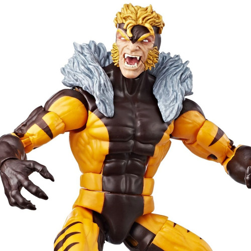 marvel legends x-men sabretooth apocalypse - robot negro