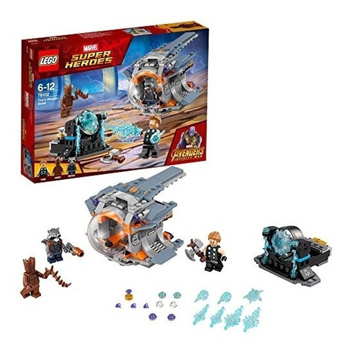 marvel lego 76102 avengers infinity war thor weapon ques