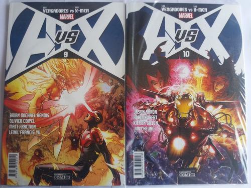 marvel los vengadores vs x-men