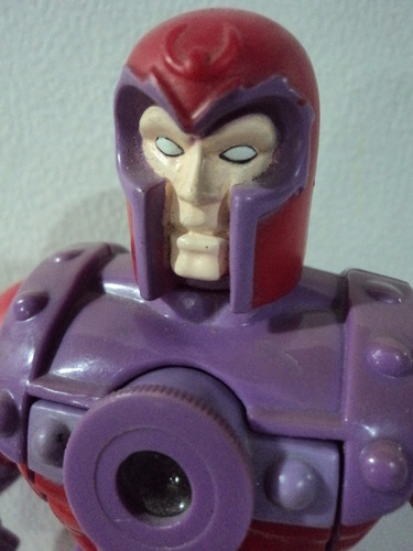marvel magneto figura viewmaster toybiz 1994