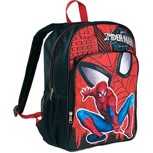 marvel mochila de hombre araña