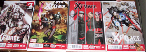 marvel now - x force (1 al 7) completa