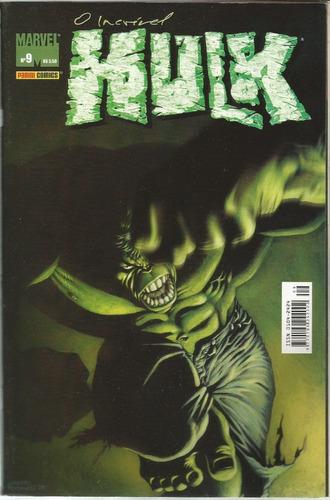 marvel o incrivel hulk 09  - bonellihq cx393 g18
