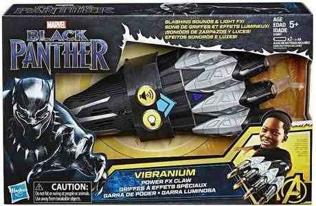 marvel pantera negra power fx garra - vibranium