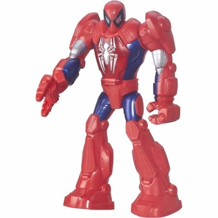 marvel - playskool heroes - spider man 100% originales