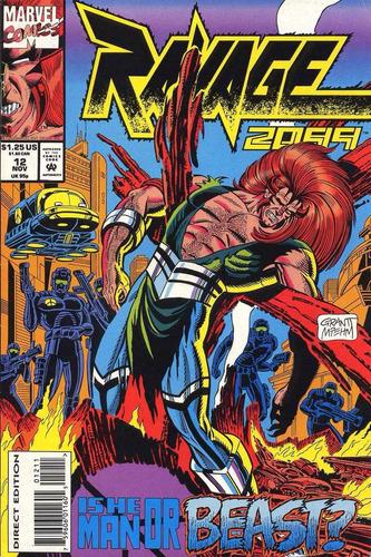 marvel ravage 2099 - ishe man or beast? - volume 12