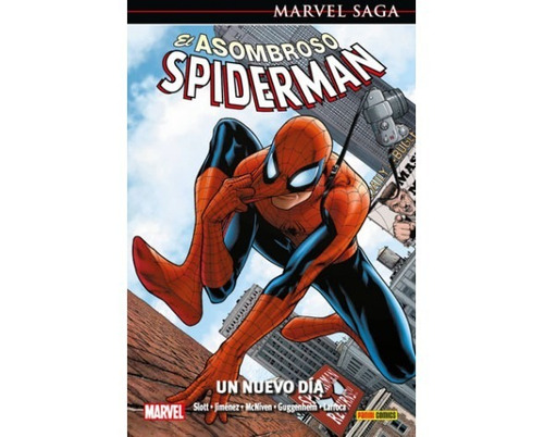 marvel saga asombroso spiderman 14 un nuevo dia