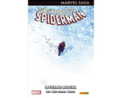 marvel saga asombroso spiderman 15 invierno mortal